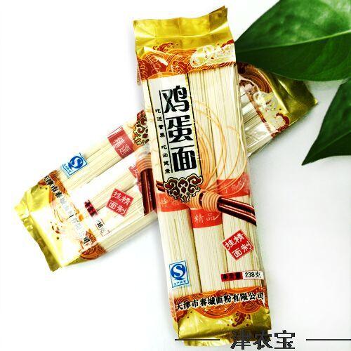 【农宝超市】春城 鸡蛋面 238g 精制挂面